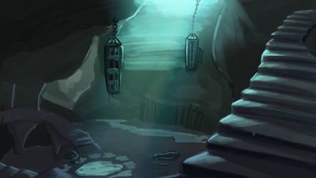 Dungeon Environment Painting [Newbie]