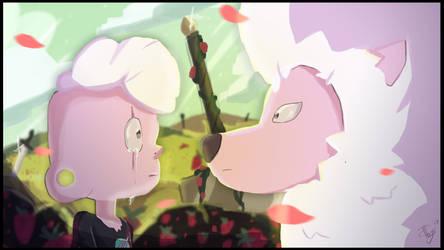 [Steven Universe] Lars and Lion