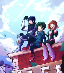 My Hero Academia - 'Friends and Rivals' Fanart