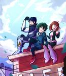 My Hero Academia - 'Friends and Rivals' Fanart