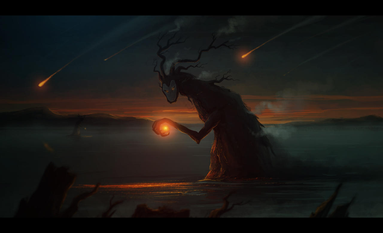 Dark Figure by Eredel