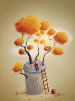 Coffee Shop Tree
