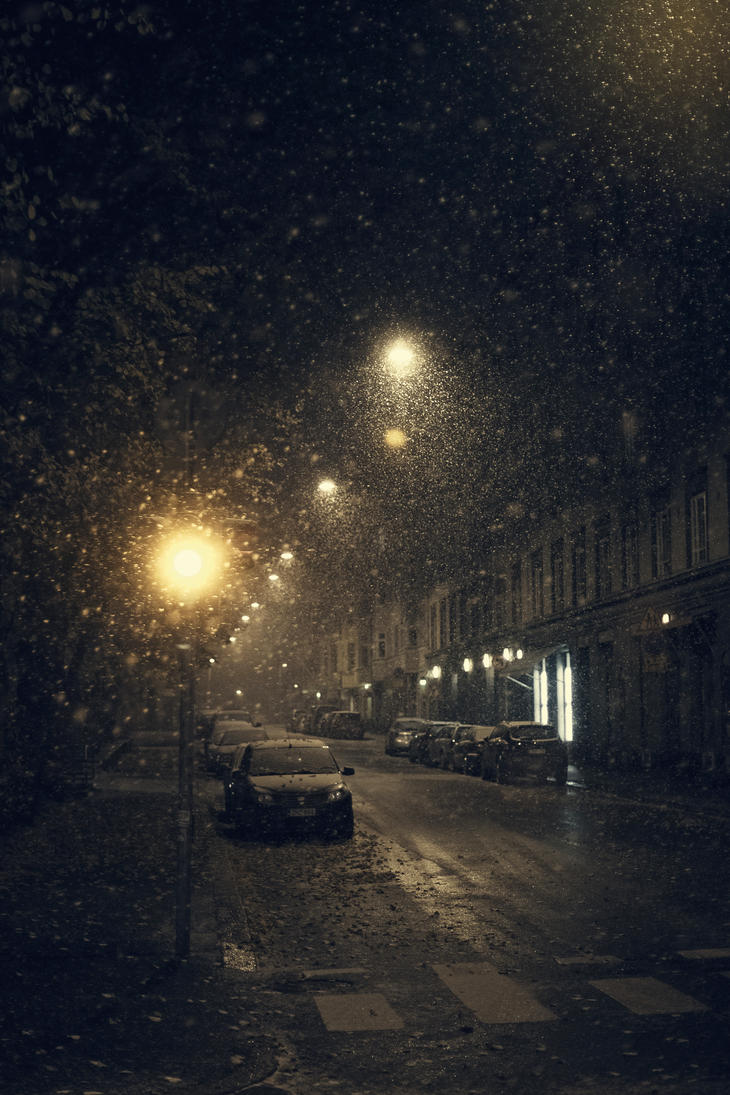 Snow in Helsinki by Eredel