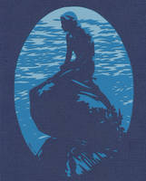 8x10 Mermaid Blue Invert Sm by rschuch