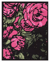 Pink Roses Sm by rschuch