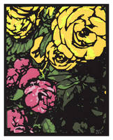 Yellow Roses Sm by rschuch