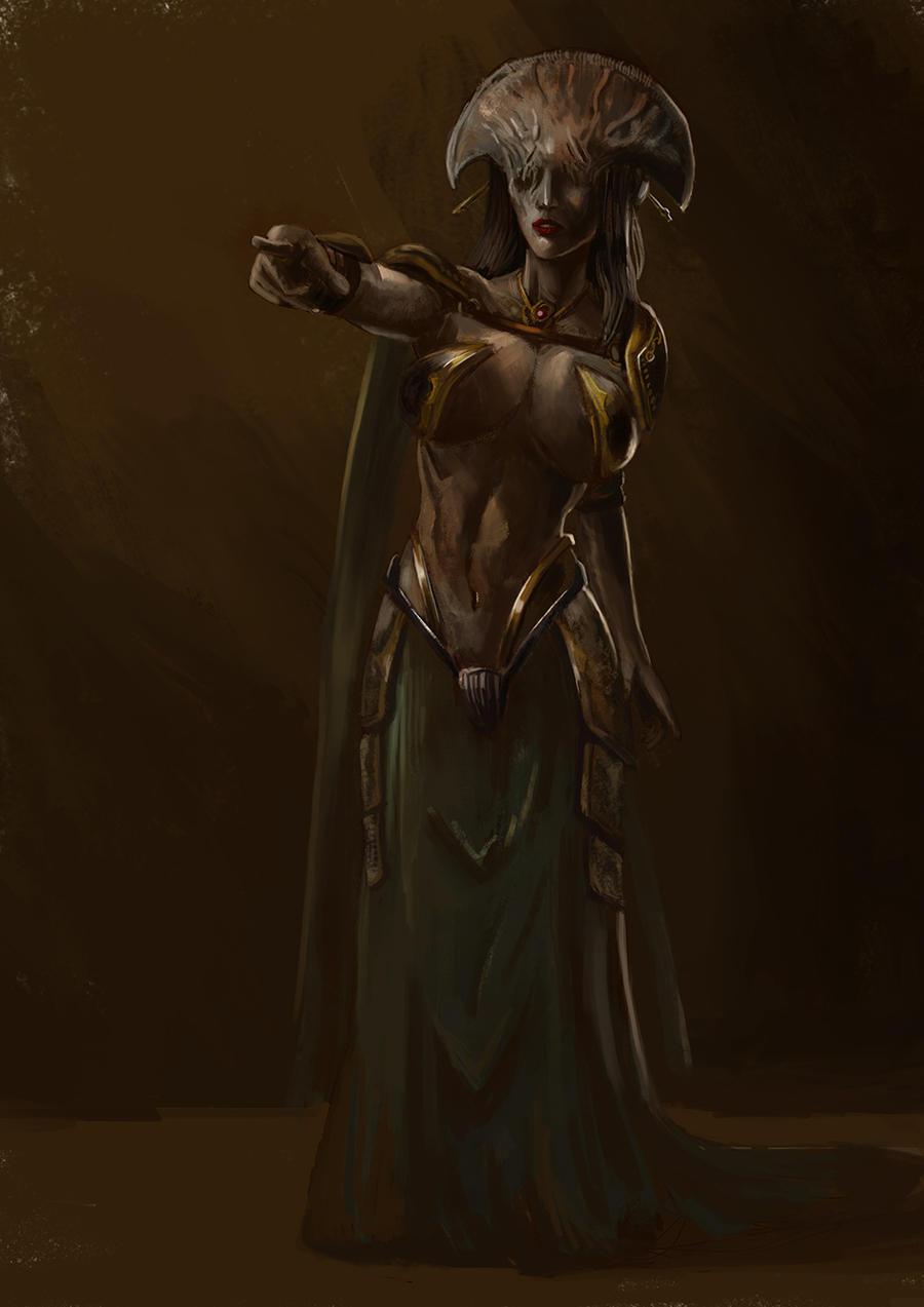 Queen Darkness by MarcFelix