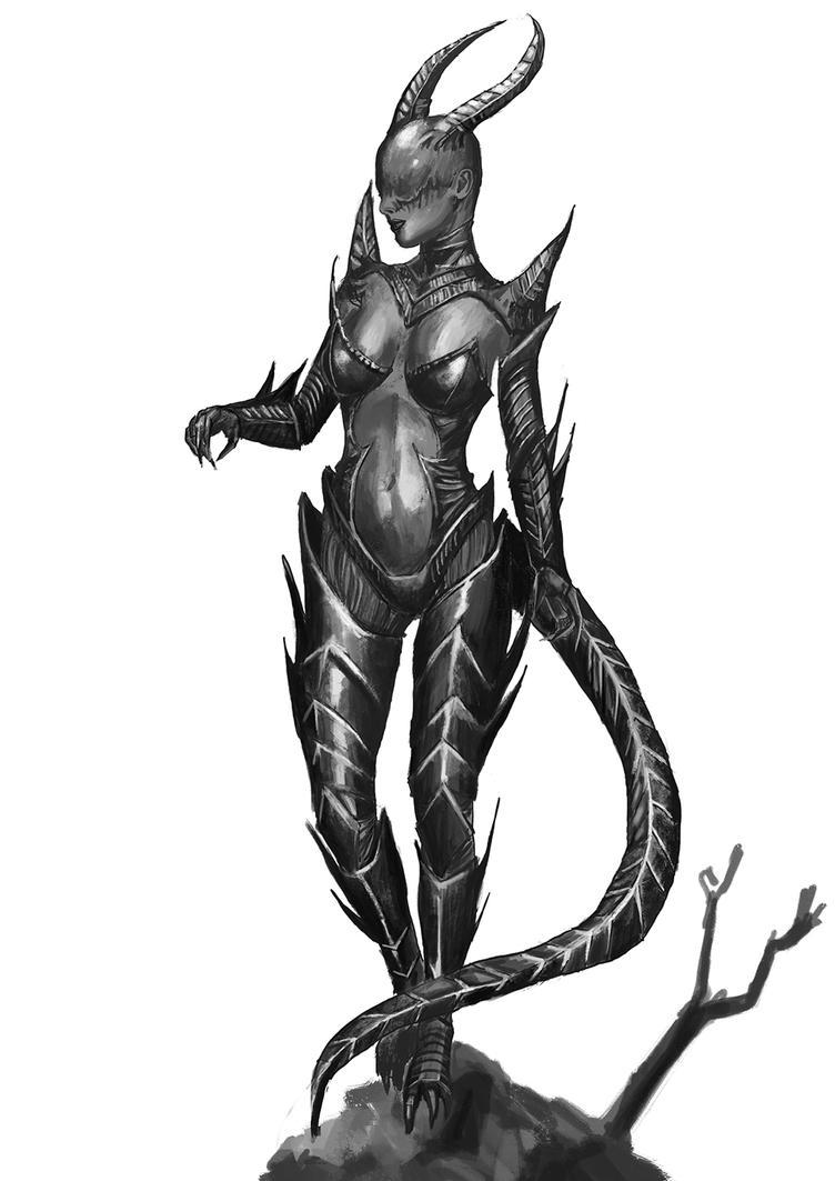 Demon Woman by MarcFelix