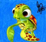 Finding Nemo: Squirt by GeeFreak