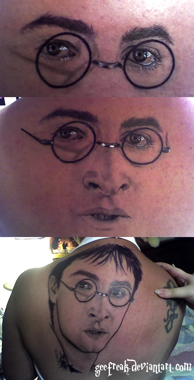 Harry Potter Temporary Tattoo by GeeFreak