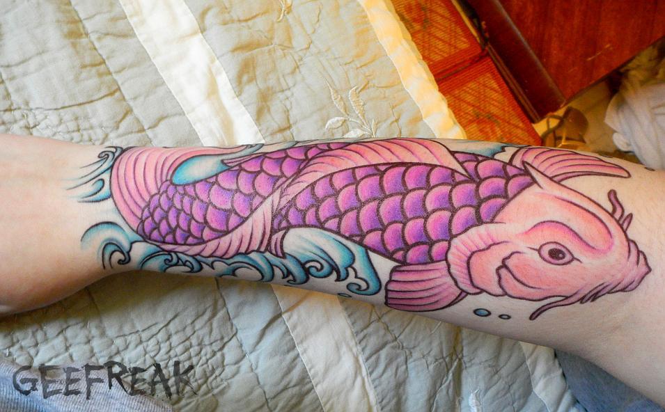 Koi Fish- Tattoo Design