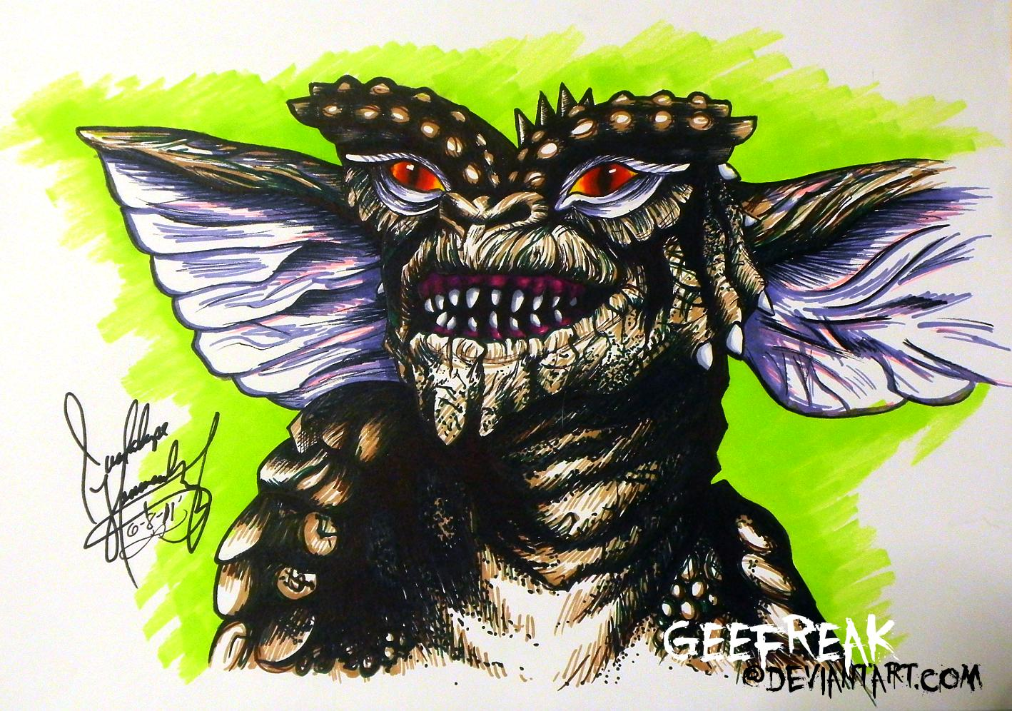 Gremlins-sketch by GeeFreak