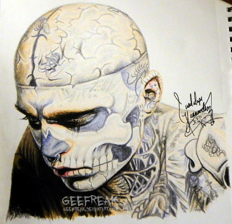 Rick Genest- Profile 4 by GeeFreak