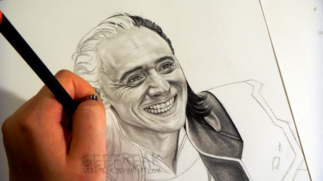 Tom Hiddleston 8: Loki 2 by GeeFreak