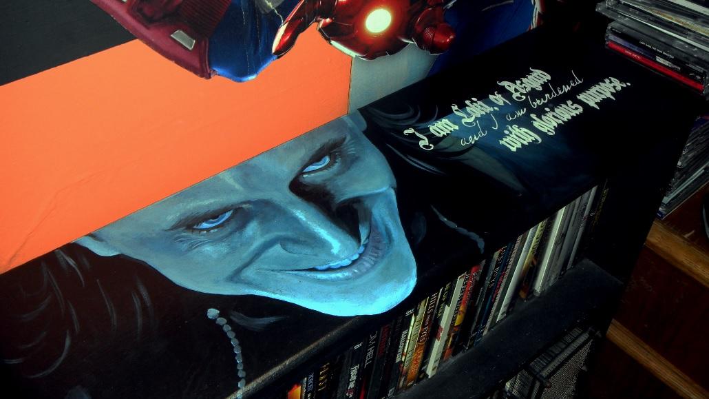 Loki: Movie shelf by GeeFreak