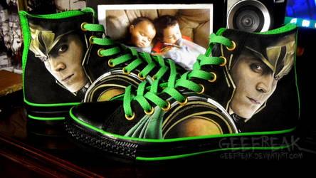 Loki: Converse by GeeFreak