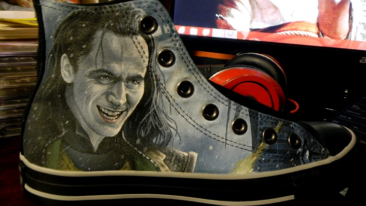 Thor: The Dark World- Loki Converse 1 by GeeFreak