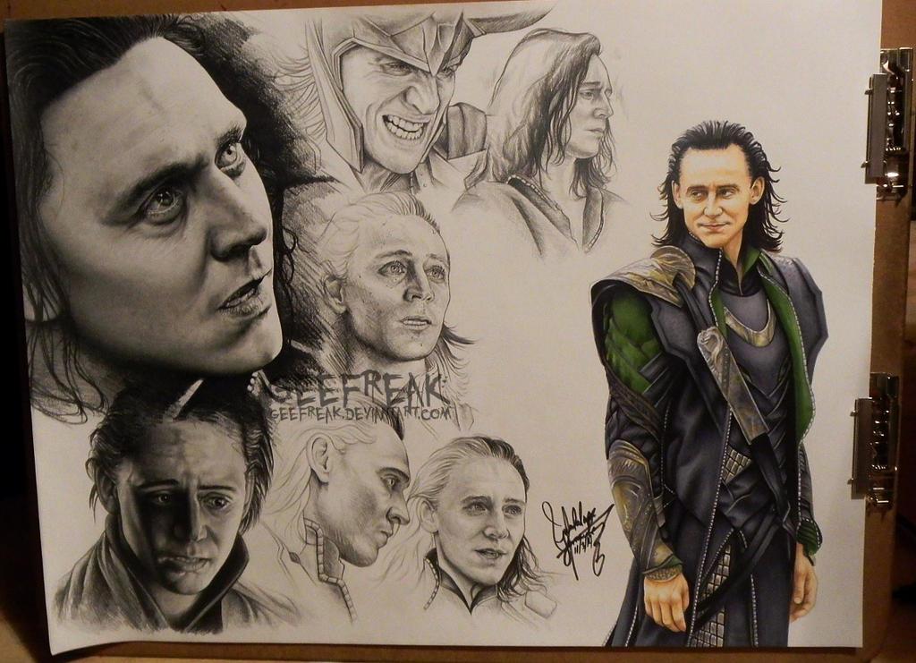 Loki - WIP Sheet 2 by GeeFreak