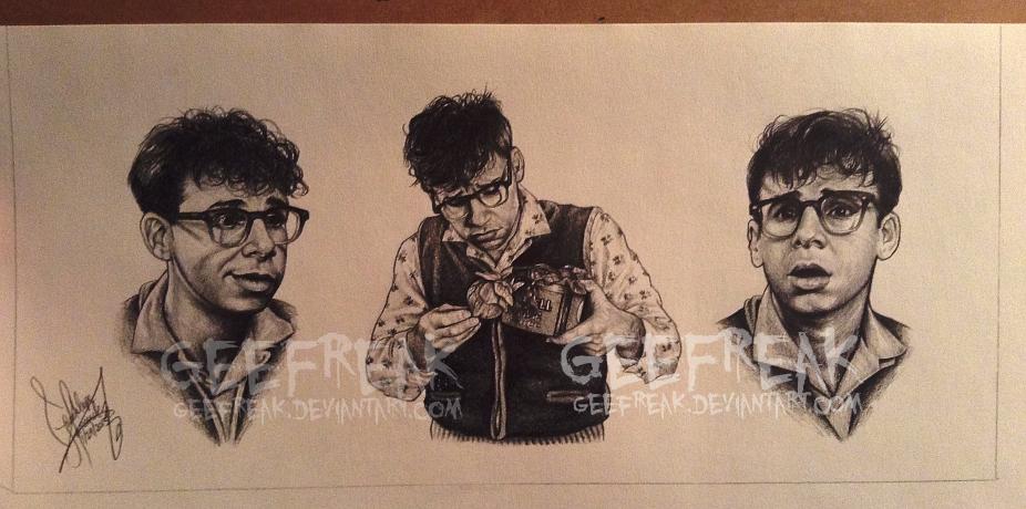 Seymour Krelborn - Character study by GeeFreak