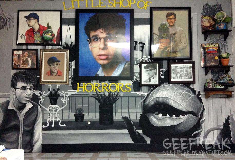 Little Shop Mural 2 by GeeFreak