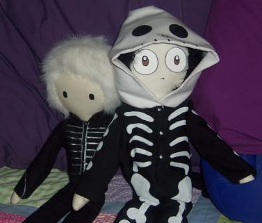 Gerard Dolls by GeeFreak