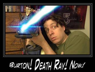 Burton's Death Ray by nortan