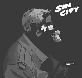Sin City - Marv by thevicmalhotra