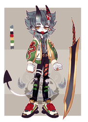 single oni adopts - [closed] by ButterflyBandit