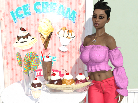 Art - Ice Cream Shop