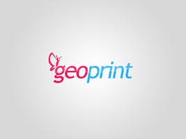 Geo print logotype by okiz
