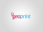 Geo print logotype