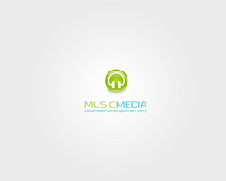 MUSIC MEDIA logotype by okiz