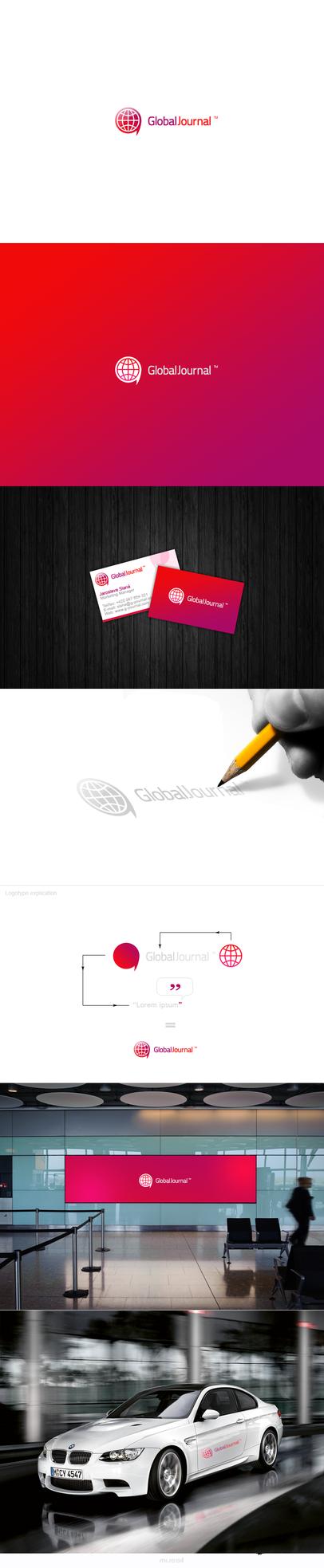 Global Journal - logotype by okiz
