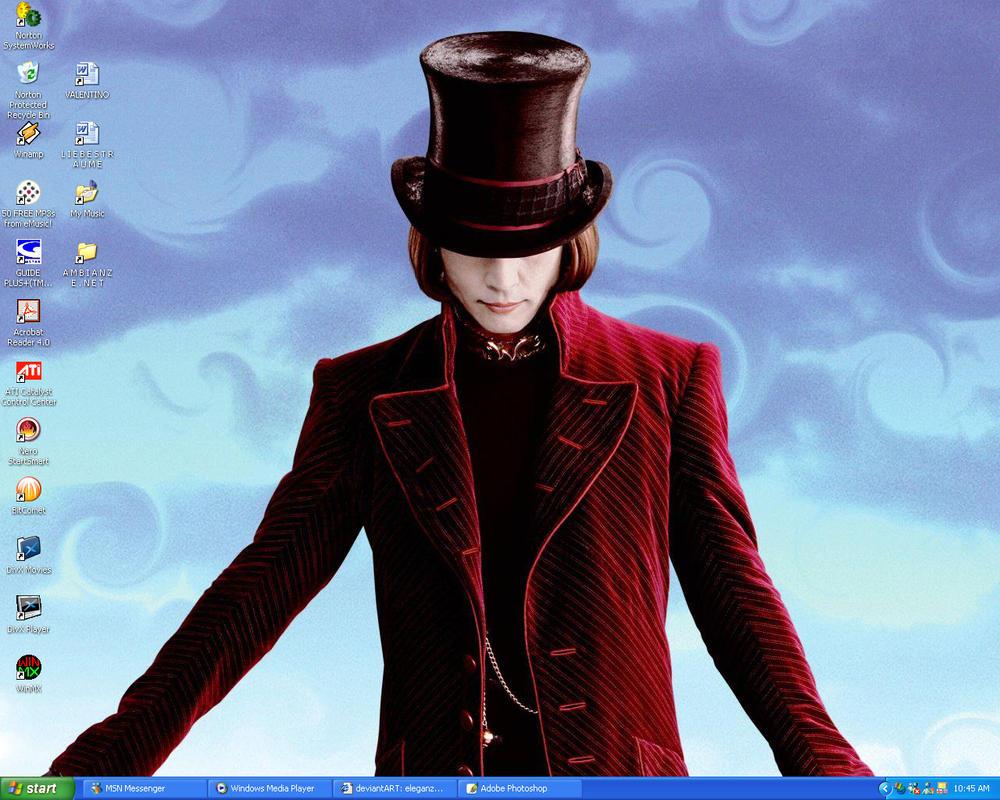 Willy Wonka by eleganze