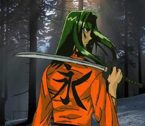 GreenHair Samurai
