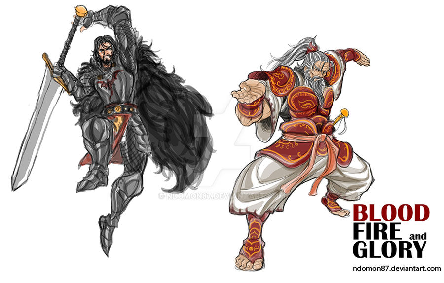 Bloodfireglory_Character Designing part2 by NDomon87