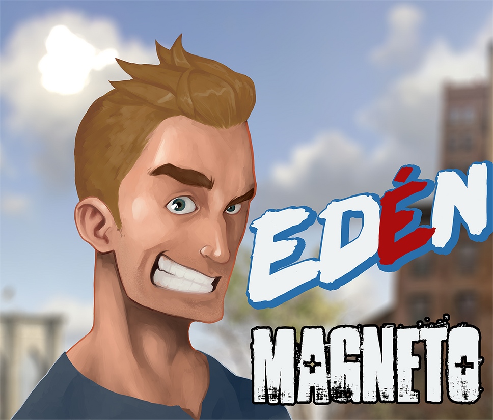 Eden - Magneto by estebanblack