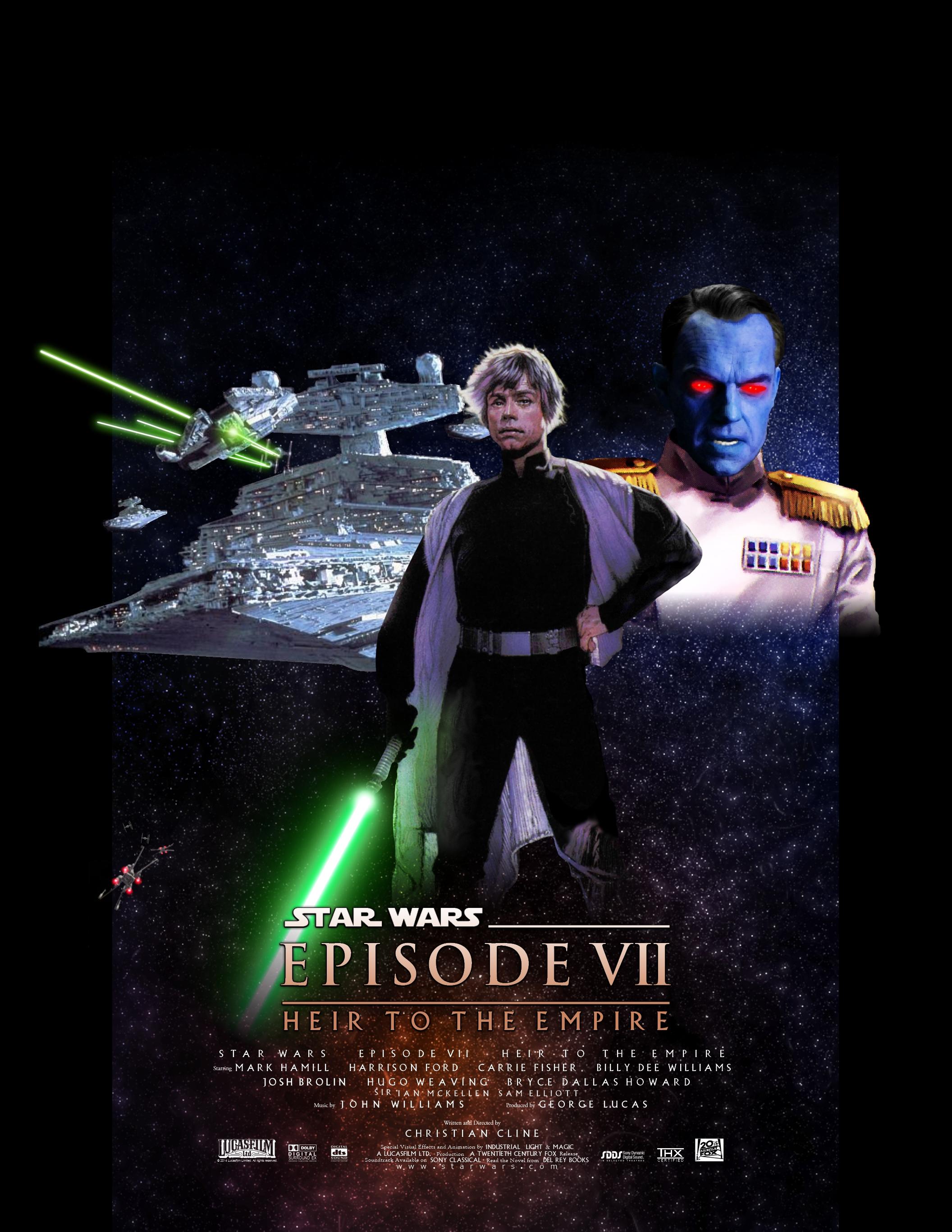 WIP - Star Wars Episode VII Movie Poster by Joeshmoe59697