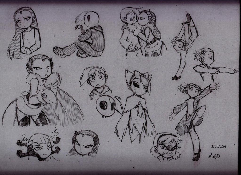 Grim Tales Kids by RednBlackDevil