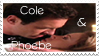 Cole and Phoebe Stamp by ColourTime