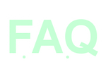 F.A.Q Sign icon [Light Green] by Alecxie