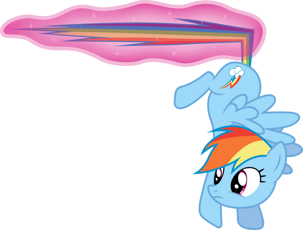 Rainbow Dash - Magical Brake by D4SVader