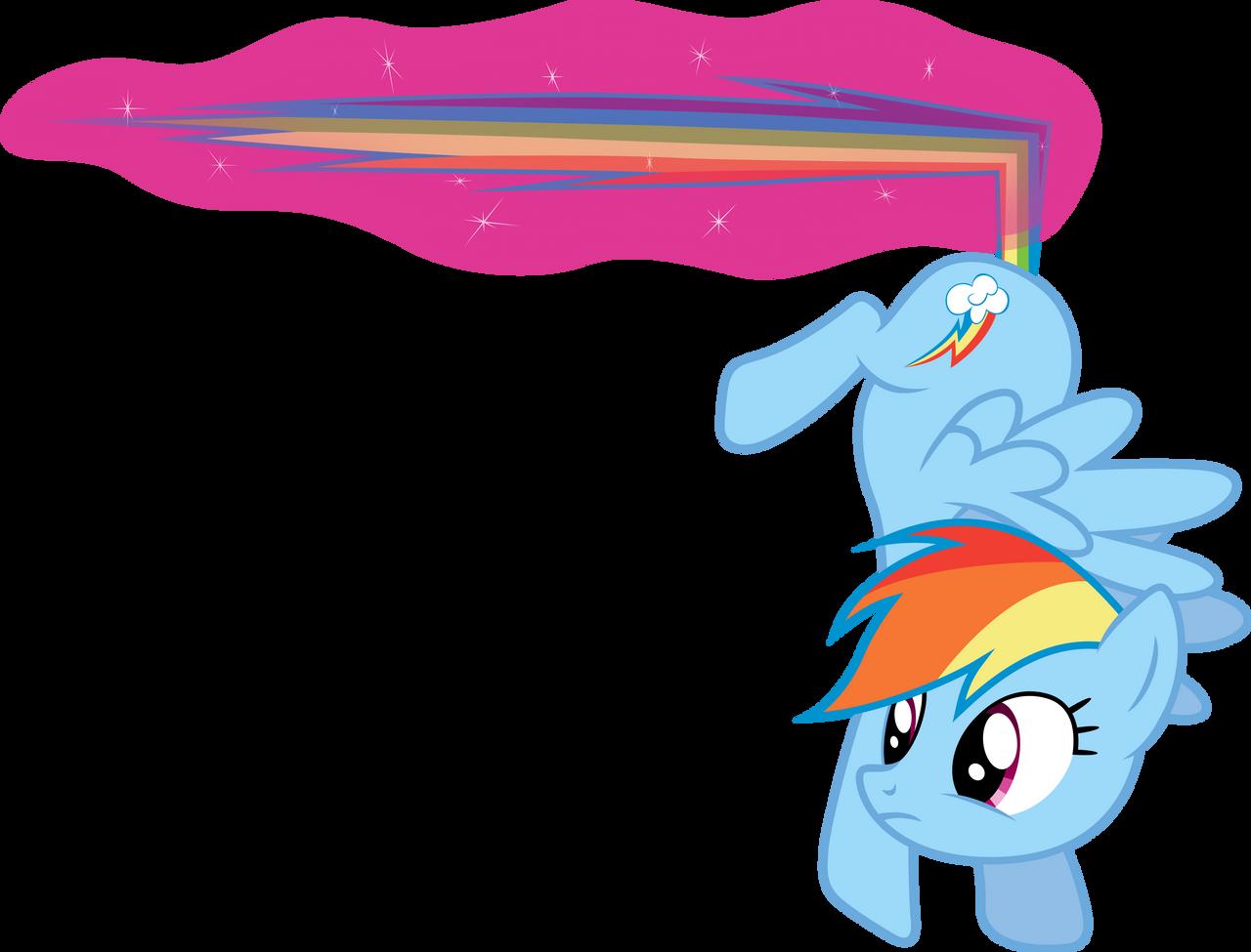 Rainbow Dash - Magical Brake by D4SVader