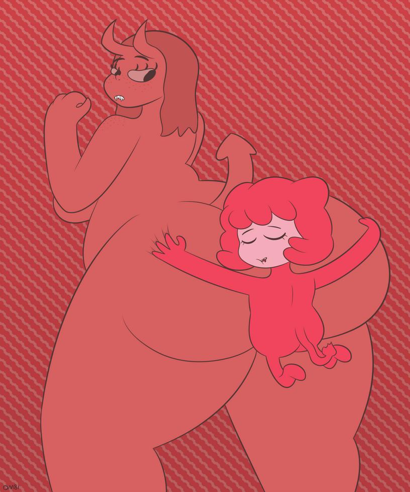butt hug by OfficialDM