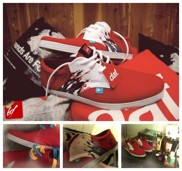 Mad Culture Shoes x daf.