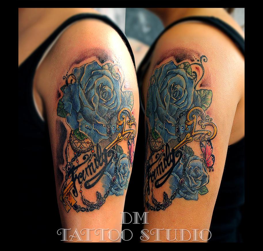 Family Roses by DMaerografie