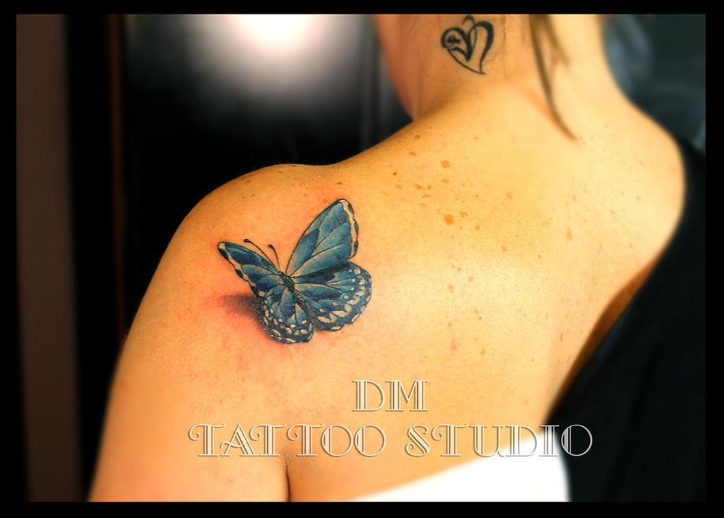 Butterfly by DMaerografie