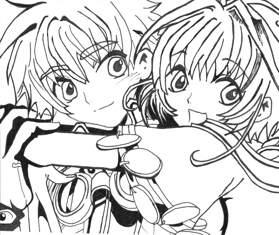 Tsubasa Reservoir Chronicle Syaoran By Onisuu On Deviantart: Syaoran And Sakura By AlexisDawnCloud