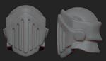 Mini Knight - 3D Helmet