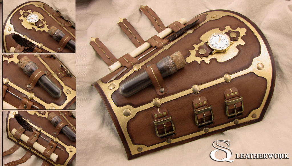 Go Back gt Gallery For How To Make Steampunk Bracers